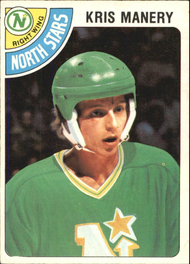 1978-79 O-Pee-Chee #107 Kris Manery RC