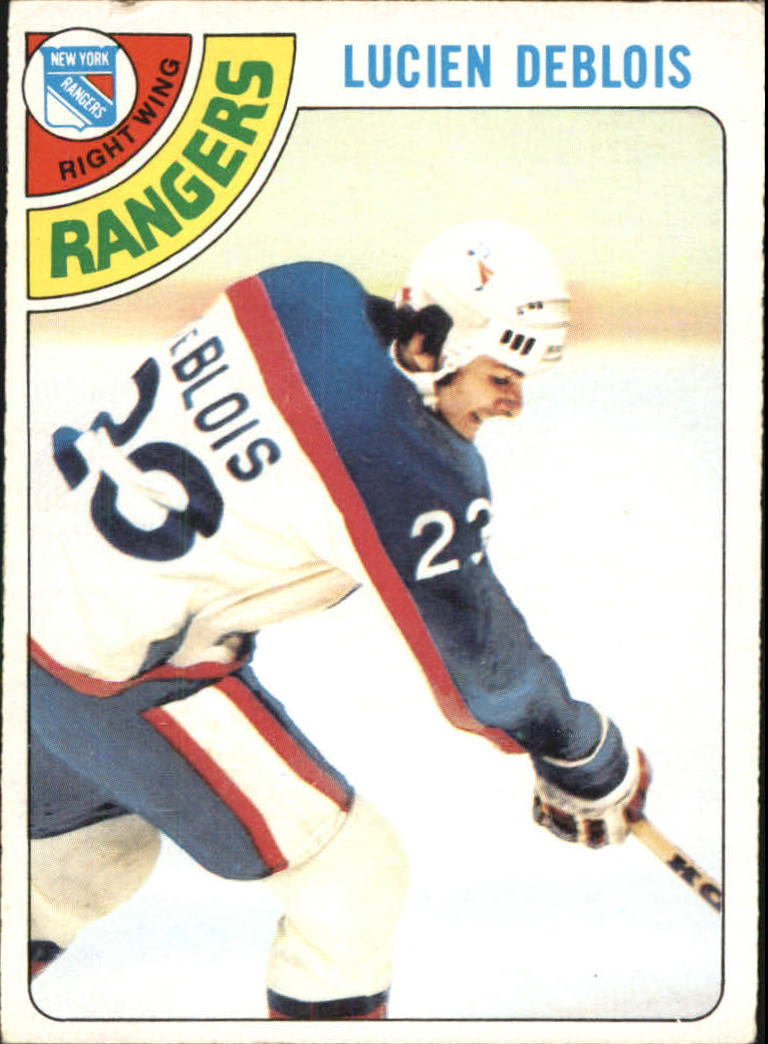 1978-79 O-Pee-Chee #136 Lucien DeBlois RC