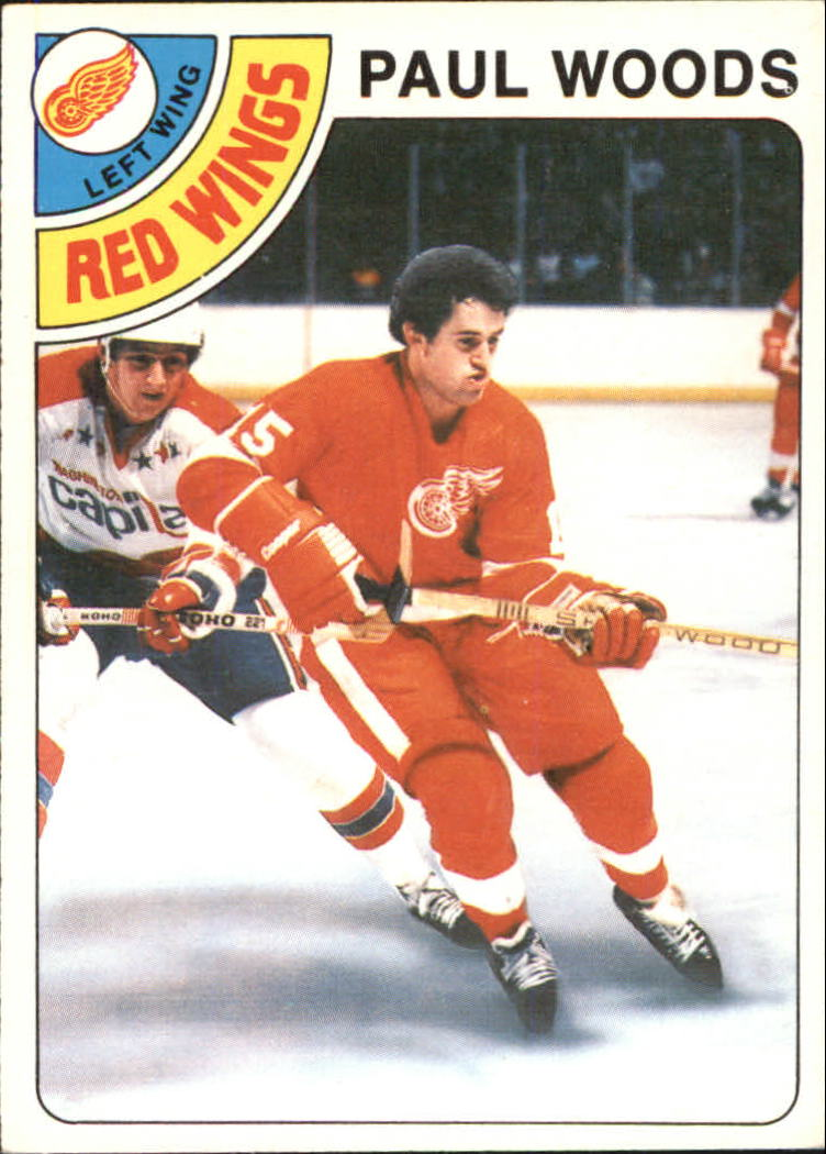 1978-79 O-Pee-Chee #159 Paul Woods RC