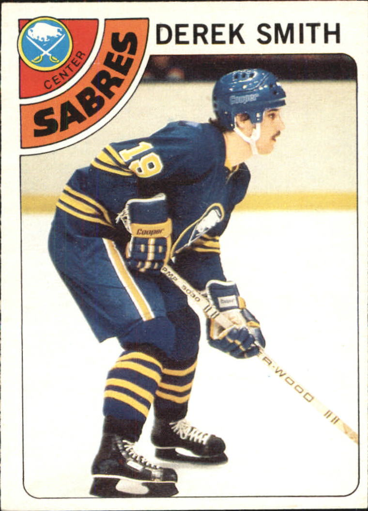 1978-79 O-Pee-Chee #222 Derek Smith RC