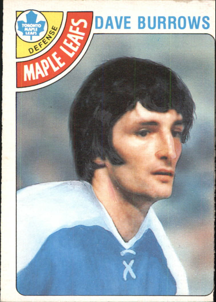 1978-79 O-Pee-Chee #254 Dave Burrows