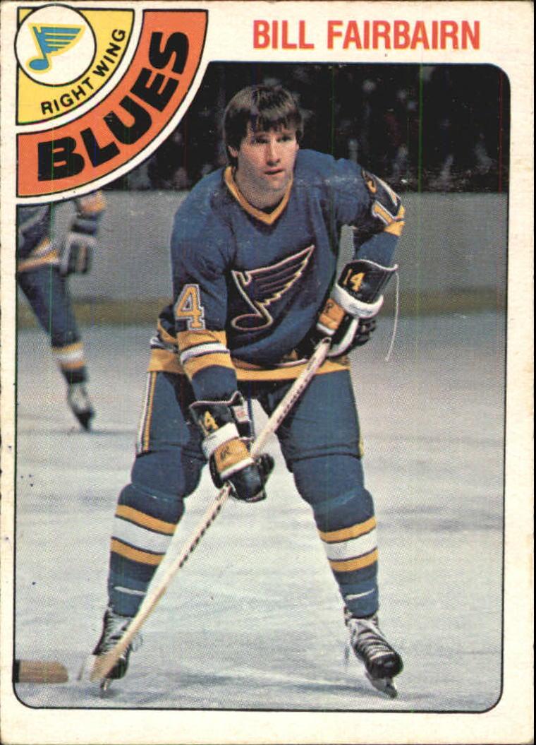 1978-79 O-Pee-Chee #267 Bill Fairbairn
