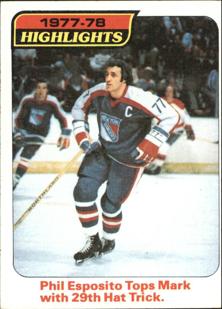 1978-79 Topps #2 Phil Esposito HL