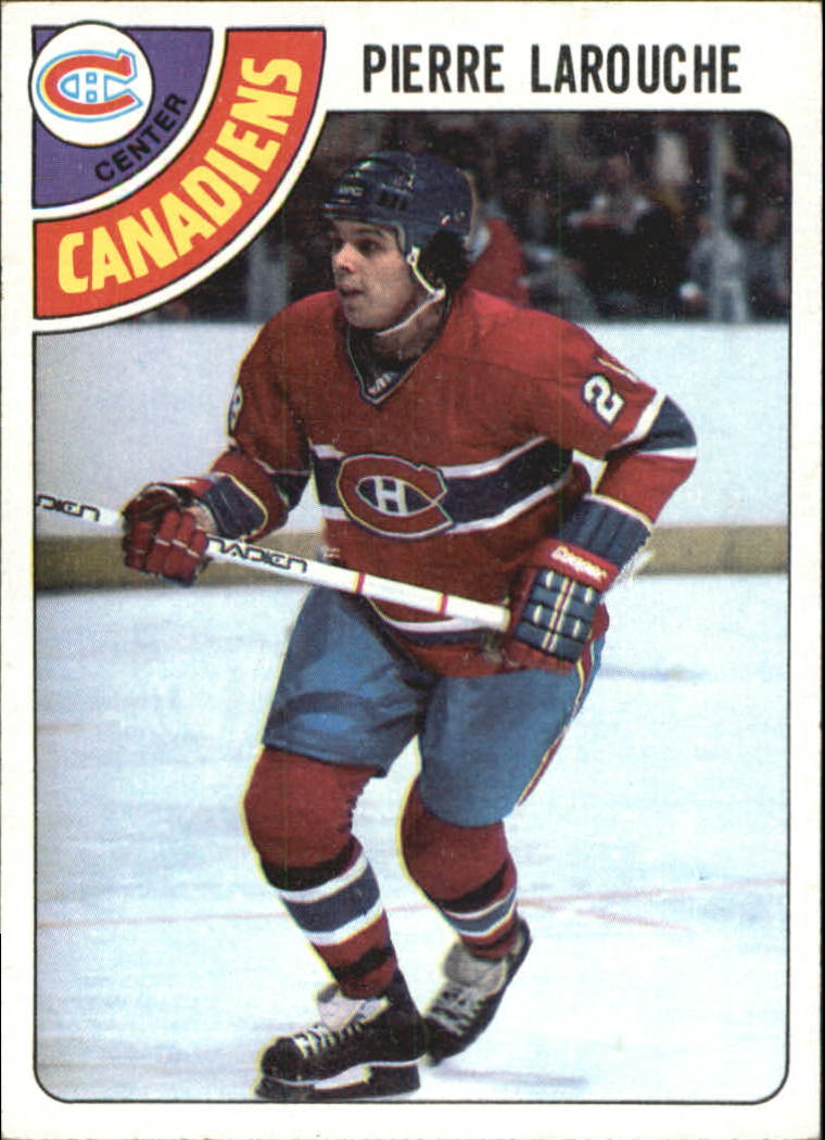 1978-79 Topps #35 Pierre Larouche