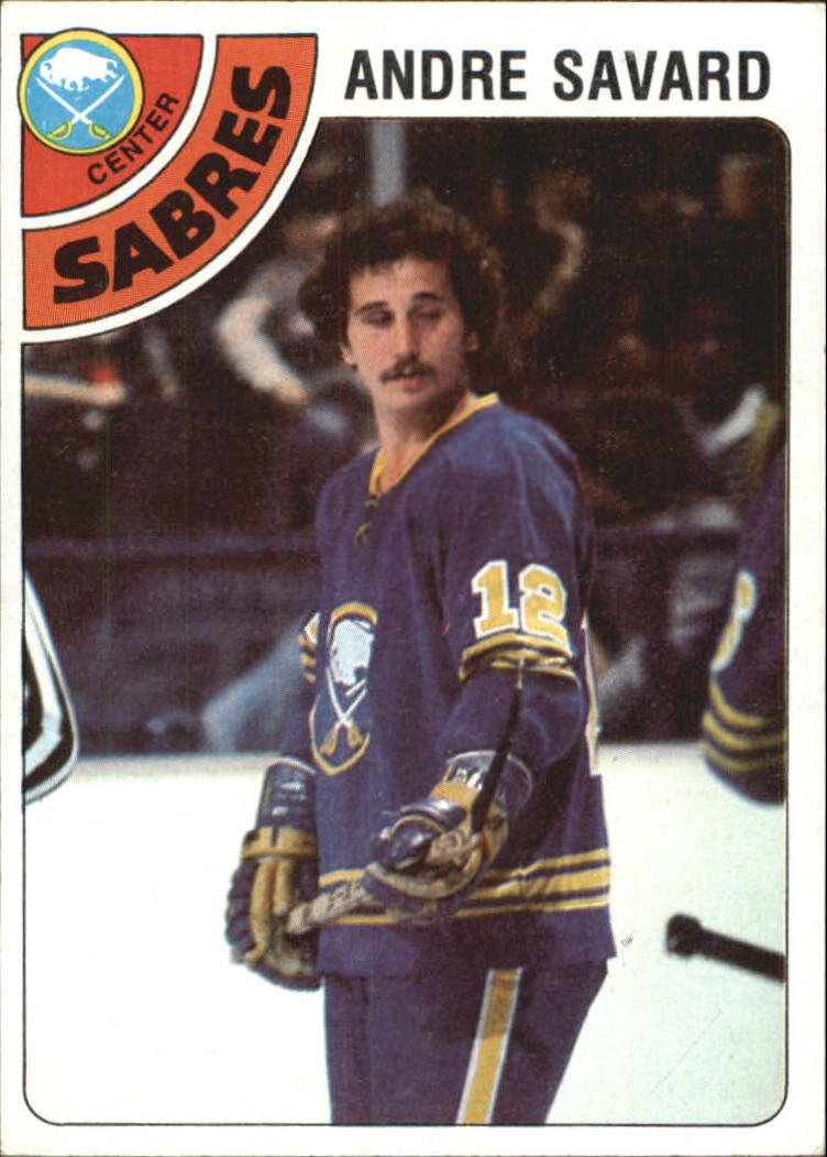 1978-79 Topps #253 Andre Savard