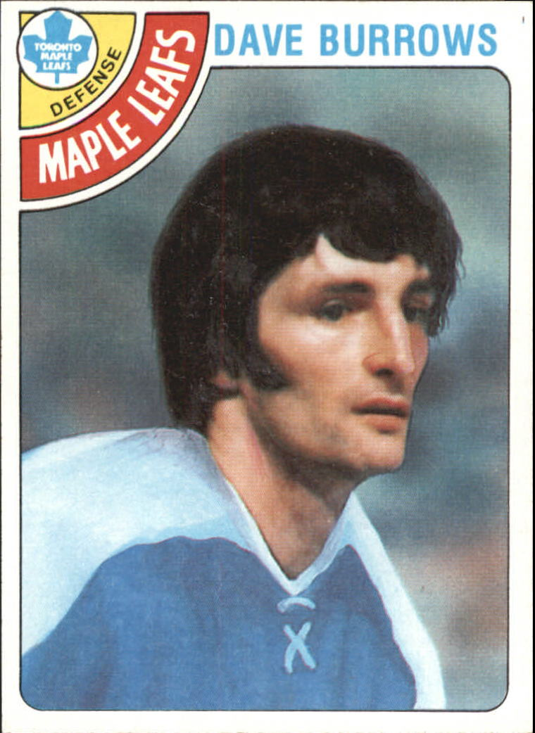 1978-79 Topps #254 Dave Burrows