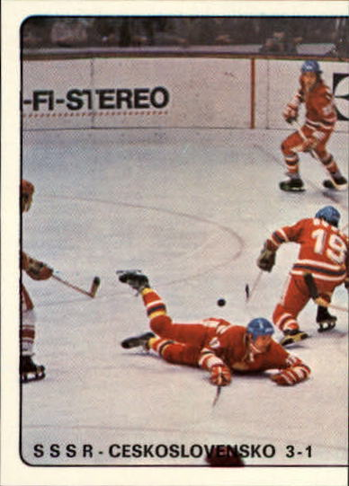 1979 Panini Stickers #23 USSR-Czech. 3-1