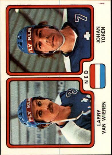 1979 Panini Stickers #279 Van Wieren/Toren