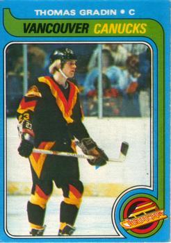 1979-80 O-Pee-Chee #53 Thomas Gradin RC