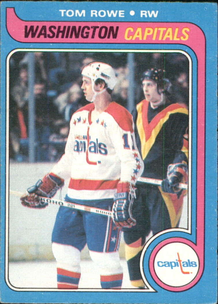 1979-80 O-Pee-Chee #113 Tom Rowe RC