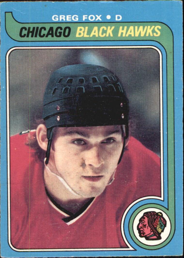 1979-80 O-Pee-Chee #116 Greg Fox RC