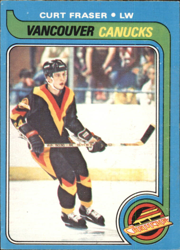 1979-80 O-Pee-Chee #117 Curt Fraser RC