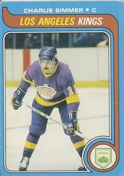 1979-80 O-Pee-Chee #191 Charlie Simmer RC