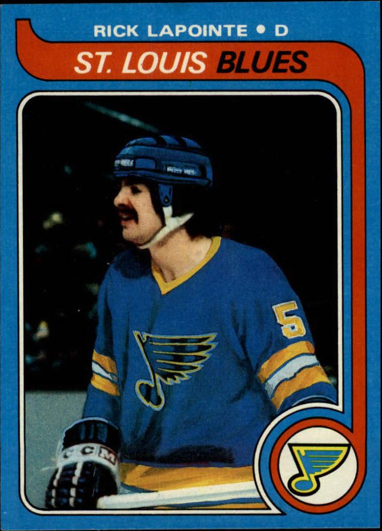 1979-80 Topps #121 Rick Lapointe