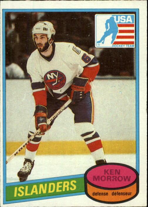 1980-81 O-Pee-Chee #9 Ken Morrow OLY RC