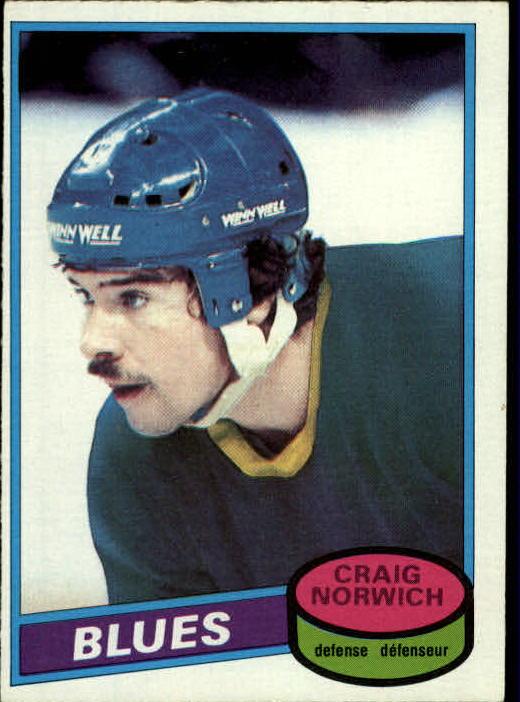 1980-81 O-Pee-Chee #53 Craig Norwich RC