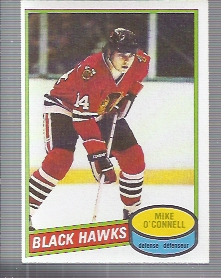 1980-81 O-Pee-Chee #61 Mike O'Connell RC