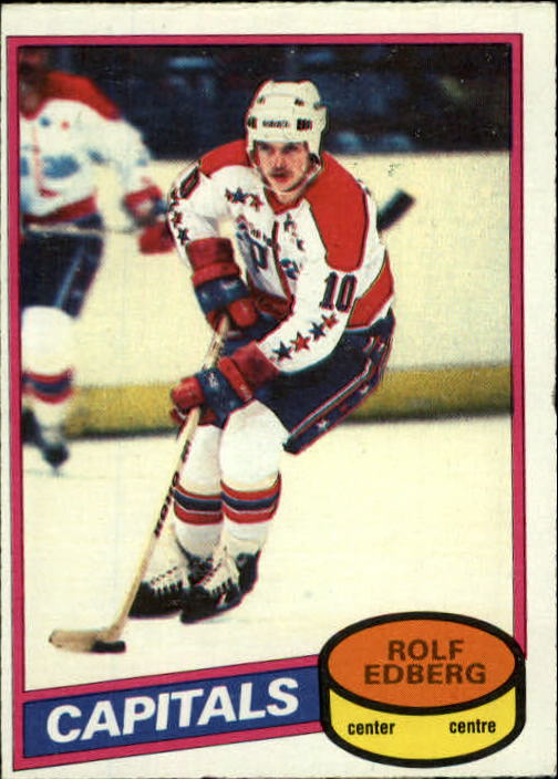 1980-81 O-Pee-Chee #65 Rolf Edberg RC