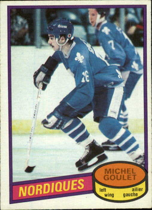 1980-81 O-Pee-Chee #67 Michel Goulet RC