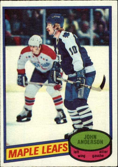 1980-81 O-Pee-Chee #79 John Anderson RC