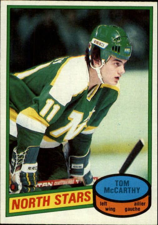 1980-81 O-Pee-Chee #93 Tom McCarthy RC