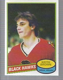 1980-81 O-Pee-Chee #98 Keith Brown RC