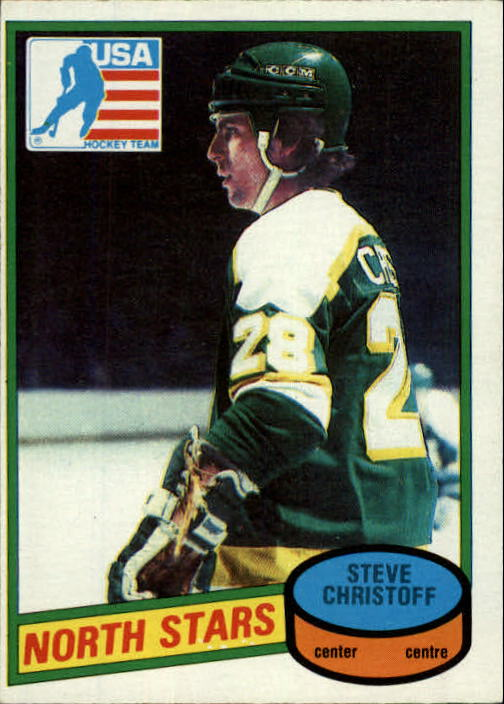 1980-81 O-Pee-Chee #103 Steve Christoff OLY RC