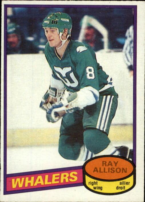 1980-81 O-Pee-Chee #126 Ray Allison RC