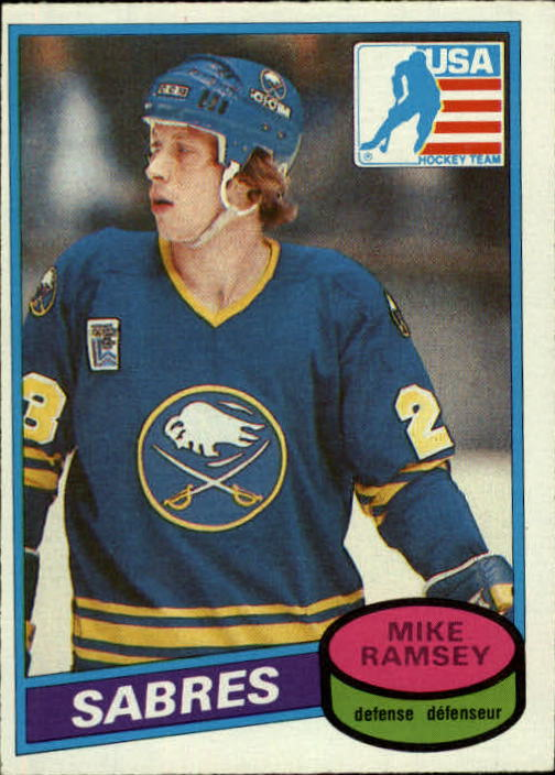 1980-81 O-Pee-Chee #127 Mike Ramsey OLY RC