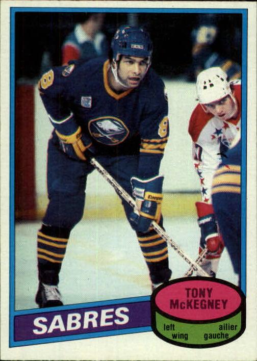 1980-81 O-Pee-Chee #144 Tony McKegney RC