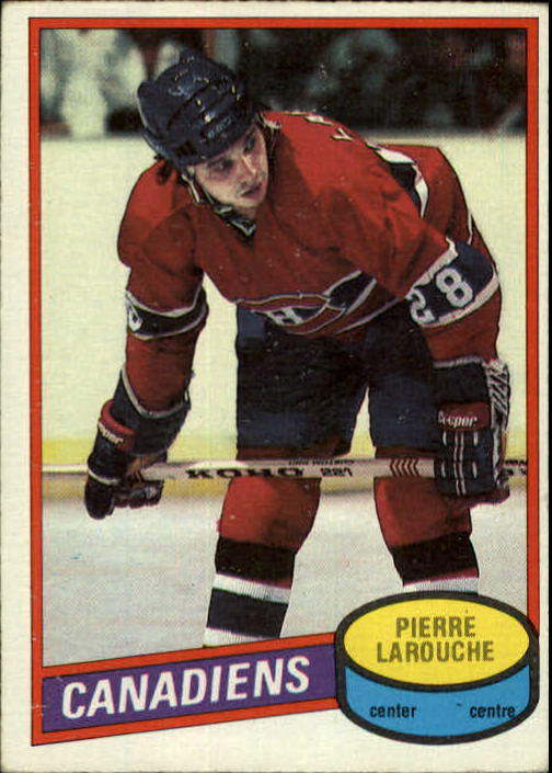 1980-81 O-Pee-Chee #151 Pierre Larouche