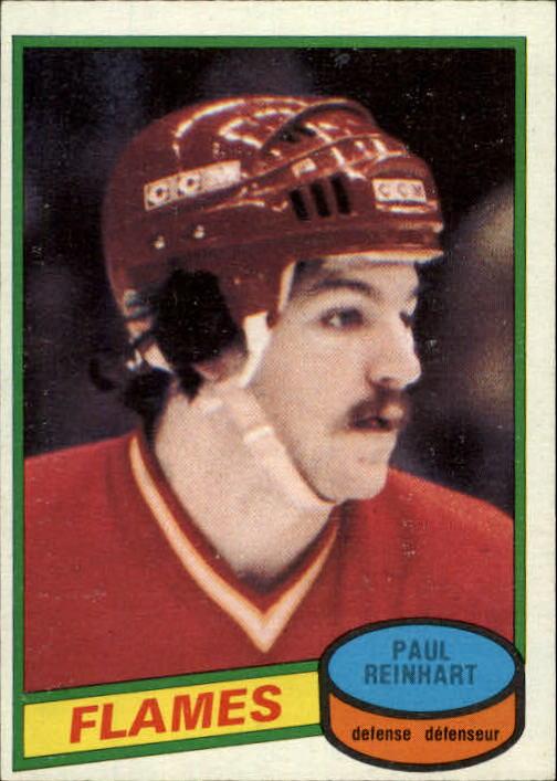 1980-81 O-Pee-Chee #157 Paul Reinhart RC