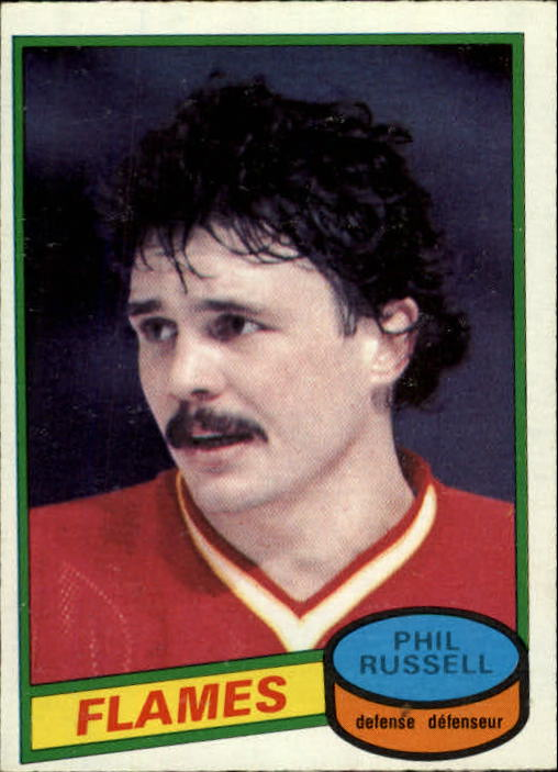 1980-81 O-Pee-Chee #226 Phil Russell