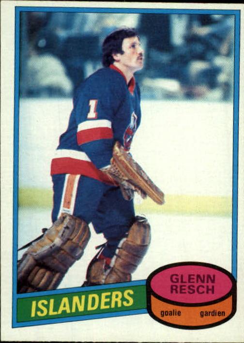 1980-81 O-Pee-Chee #235 Glenn Resch