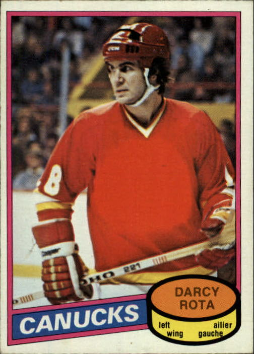 1980-81 O-Pee-Chee #301 Darcy Rota