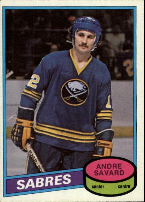 1980-81 O-Pee-Chee #375 Andre Savard