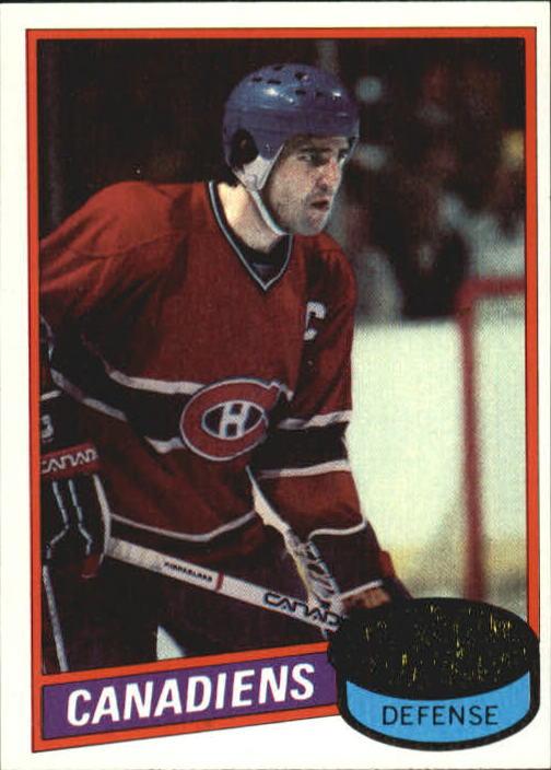 1980-81 Topps #26 Serge Savard