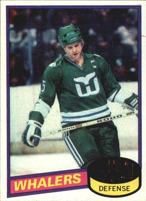 1980-81 Topps #160 Mark Howe