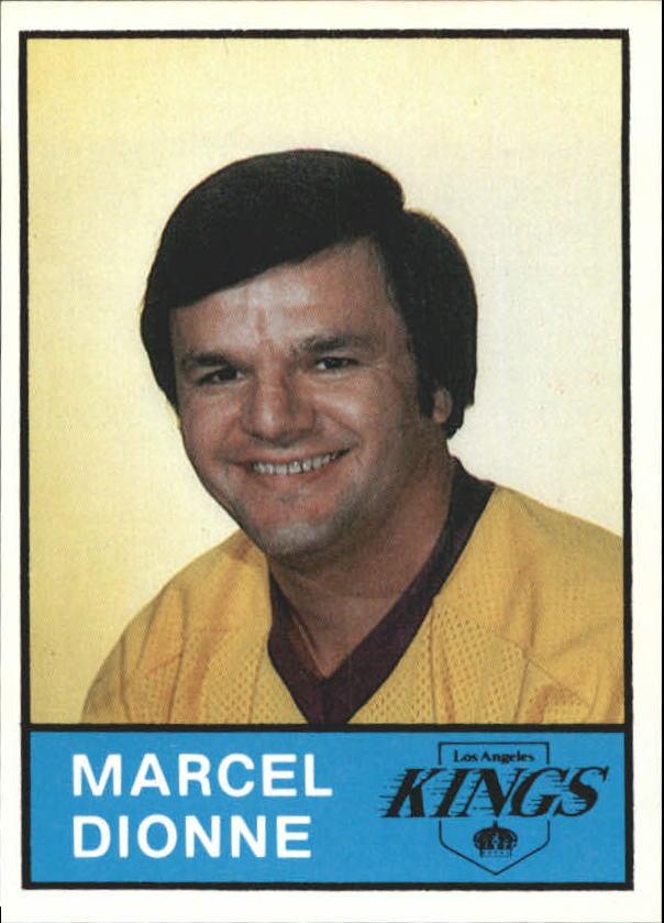 1980-81 Kings Card Night #1 Marcel Dionne