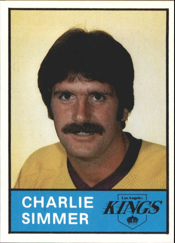 1980-81 Kings Card Night #11 Charlie Simmer