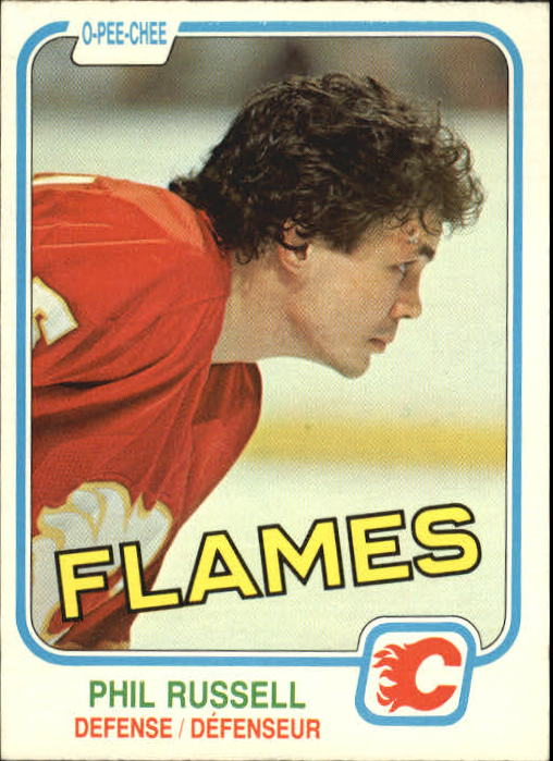1981-82 O-Pee-Chee #51 Phil Russell