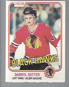 1981-82 O-Pee-Chee #65 Darryl Sutter RC