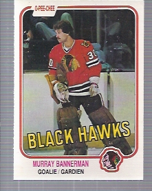 1981-82 O-Pee-Chee #68 Murray Bannerman RC