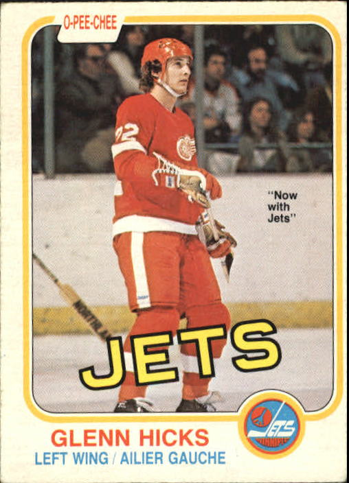 1981-82 O-Pee-Chee #98 Glen Hicks RC