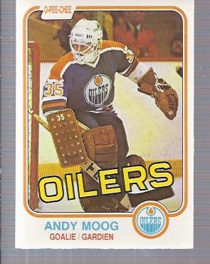 1981-82 O-Pee-Chee #120 Andy Moog RC