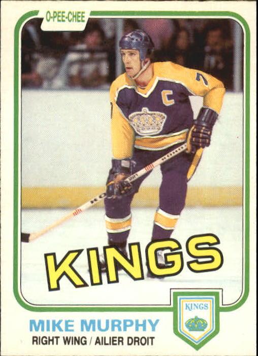 1981-82 O-Pee-Chee #149 Mike Murphy