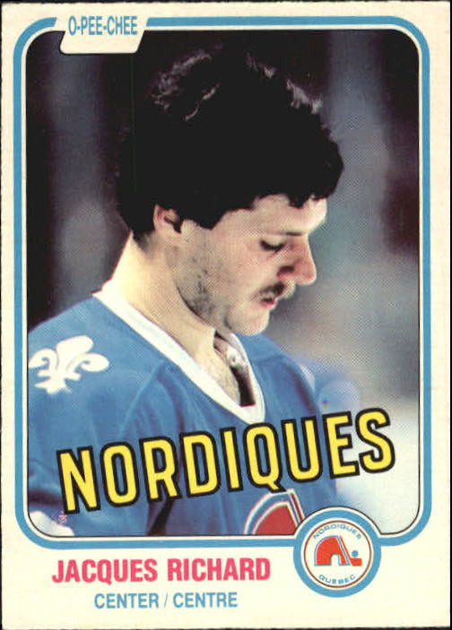 1981-82 O-Pee-Chee #268 Jacques Richard