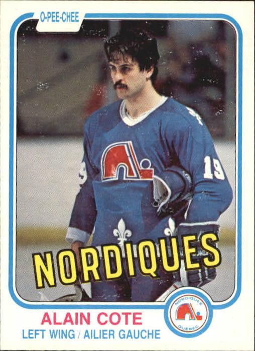 1981-82 O-Pee-Chee #272 Alain Cote