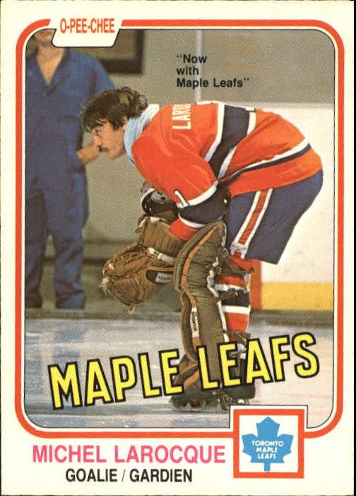 1981-82 O-Pee-Chee #319 Michel Larocque
