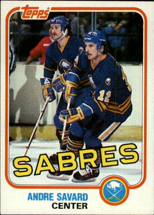 1981-82 Topps #E78 Andre Savard